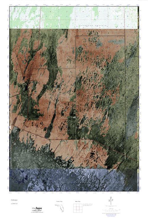 Ochopee Florida Map.Mytopo Ochopee Florida Usgs Quad Topo Map