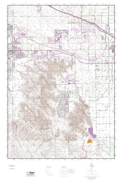 Mytopo La Quinta California Usgs Quad Topo Map