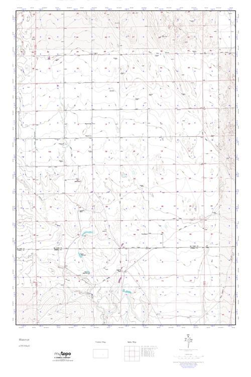Mytopo Hanover Colorado Usgs Quad Topo Map