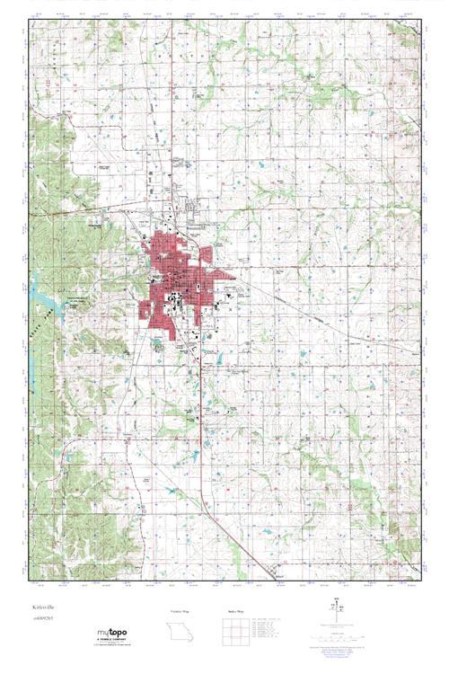 Kirksville Missouri Map.Mytopo Kirksville Missouri Usgs Quad Topo Map