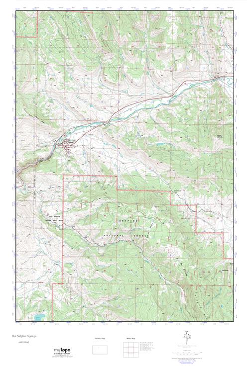 Hot Sulphur Springs Colorado Map.Mytopo Hot Sulphur Springs Colorado Usgs Quad Topo Map