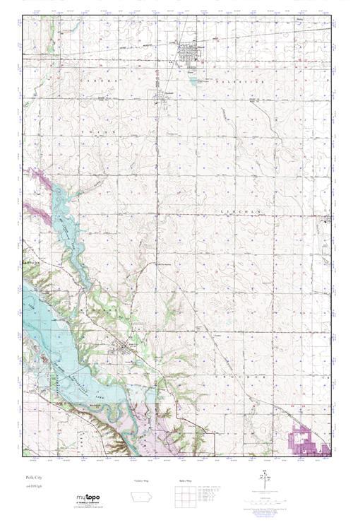 Polk City Iowa Map.Mytopo Polk City Iowa Usgs Quad Topo Map