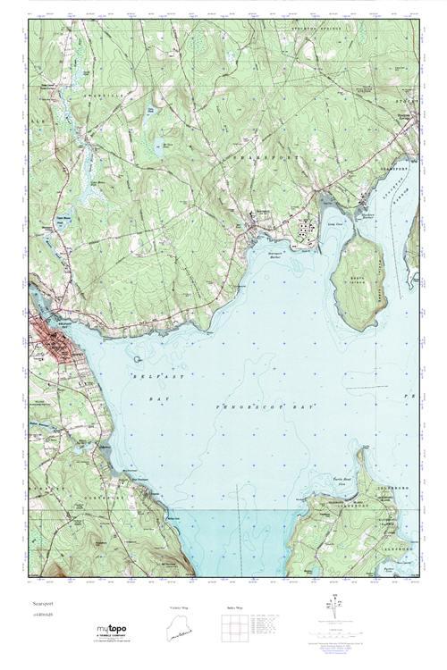 MyTopo Searsport, Maine USGS Quad Topo Map on arlington maine map, katahdin maine map, fairfield maine on map, swan's island maine map, bangor maine map, jonesport maine map, maine maine map, wilmington maine map, maine hardiness zone map, camden maine map, belfast maine map, maine blueberry map, warren maine map, brewer lake maine map, ogunquit maine map, dedham maine map, dixfield maine map, yarmouth maine map, cape jellison maine map, bath maine map,