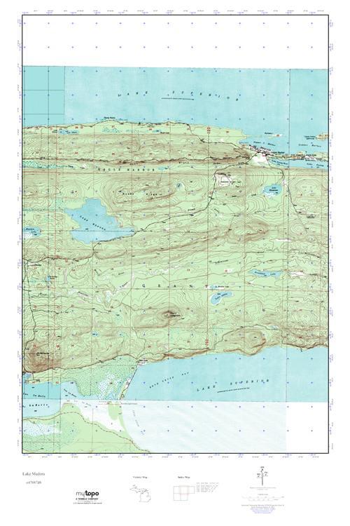 Medora Map