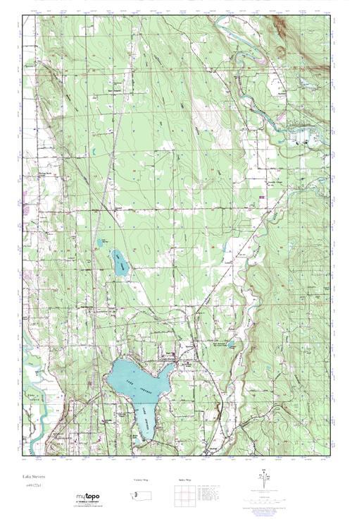 Lake Stevens Washington Map.Mytopo Lake Stevens Washington Usgs Quad Topo Map