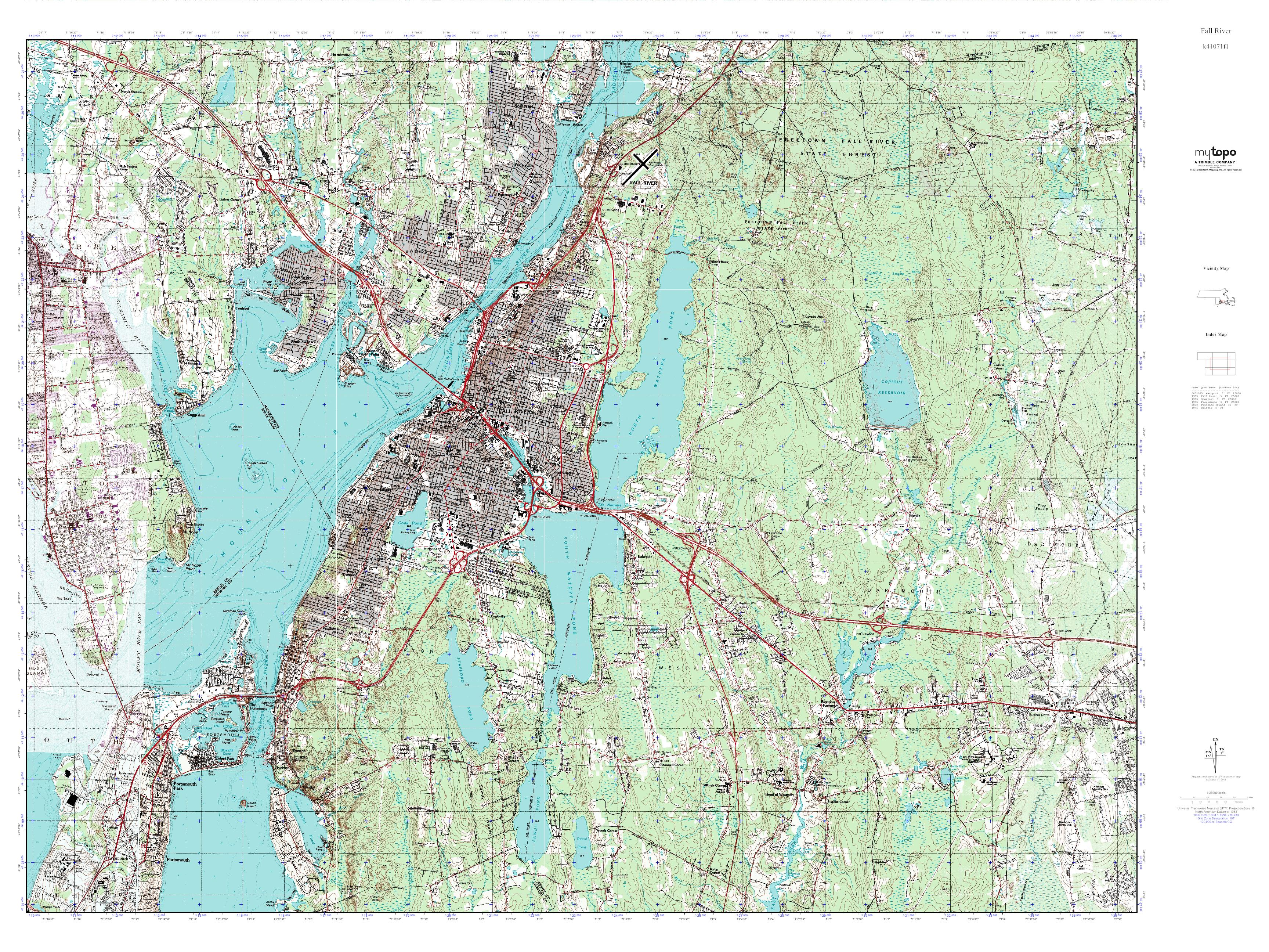Fall River County South Dakota USGS Topographic Maps on CD