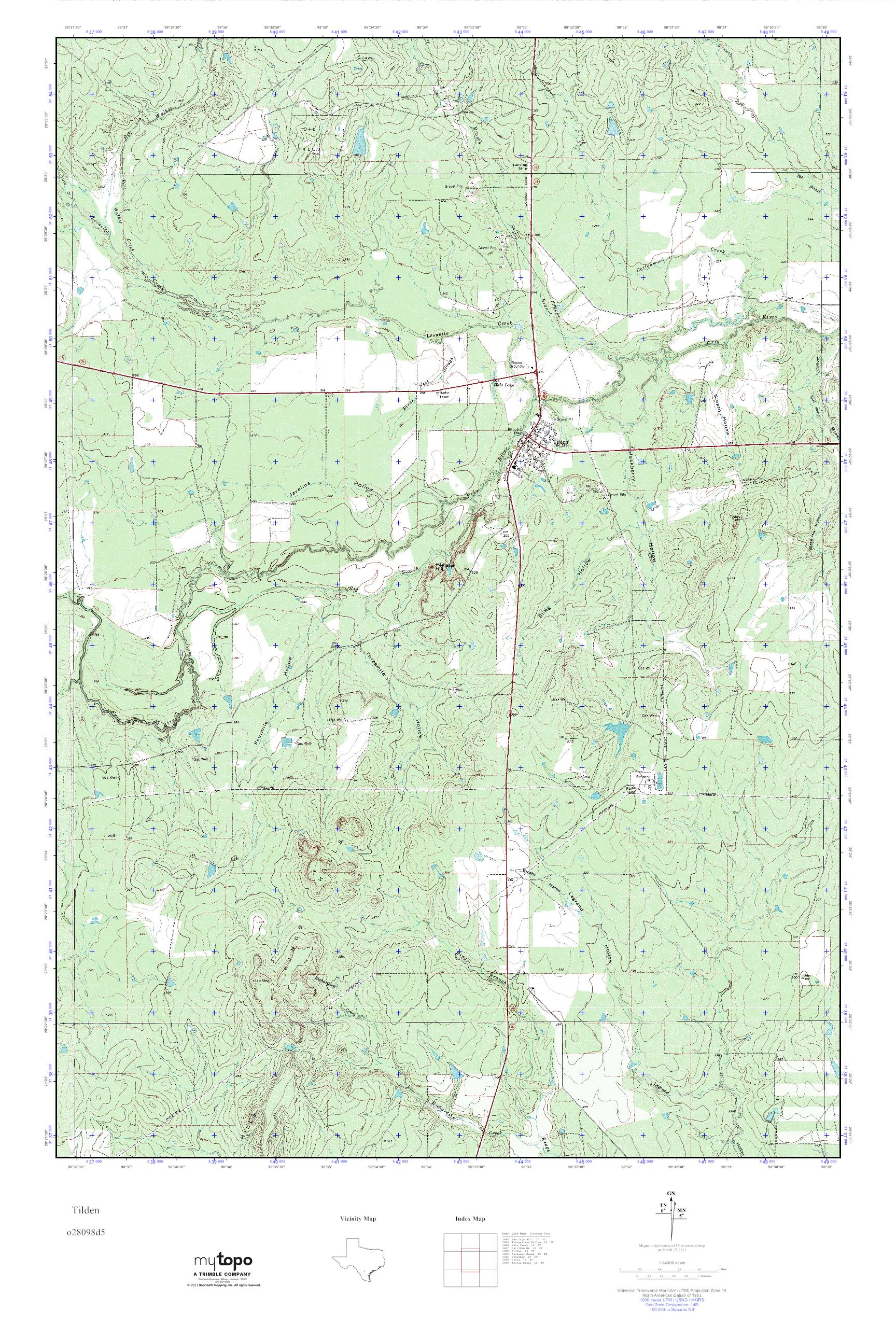 Mytopo tilden texas usgs quad topo map publicscrutiny Choice Image