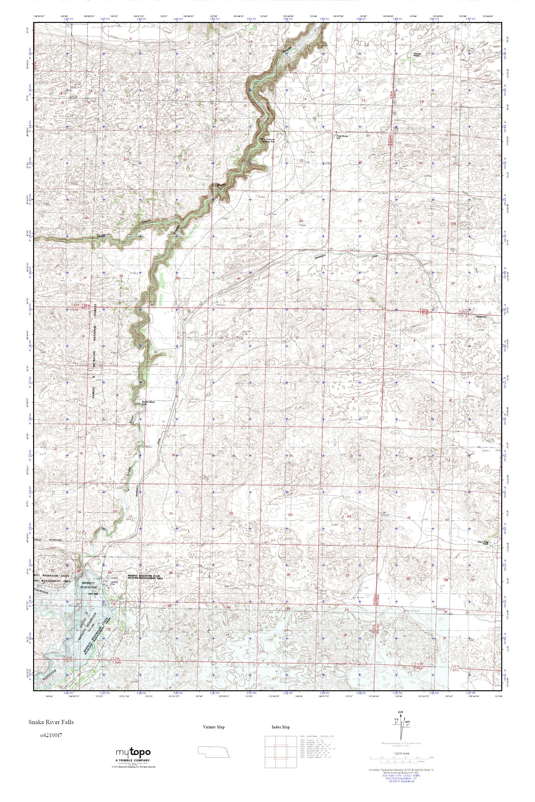 Snake River On Us Map - Us-map-snake-river