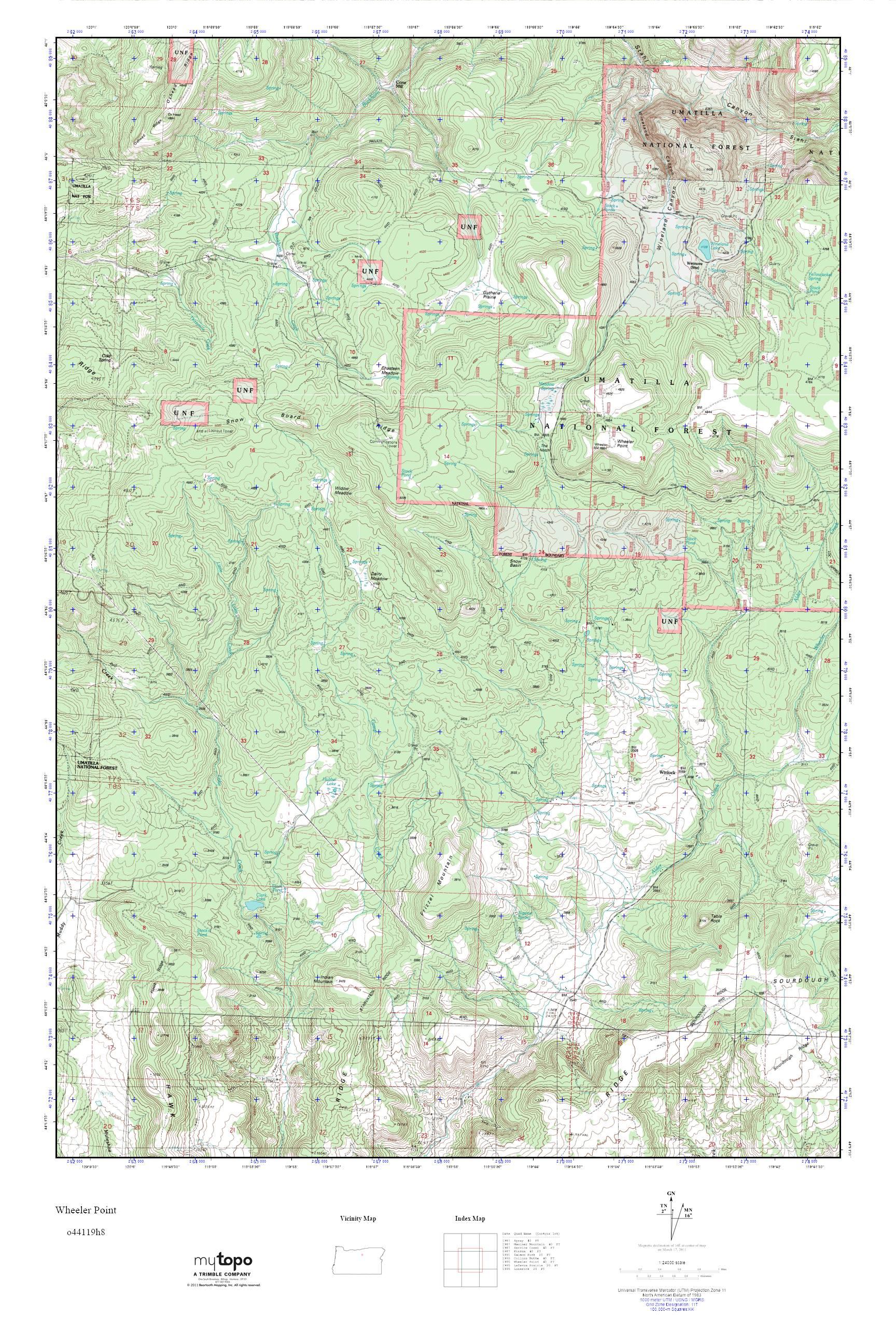 Wheeler Oregon Map.Mytopo Wheeler Point Oregon Usgs Quad Topo Map