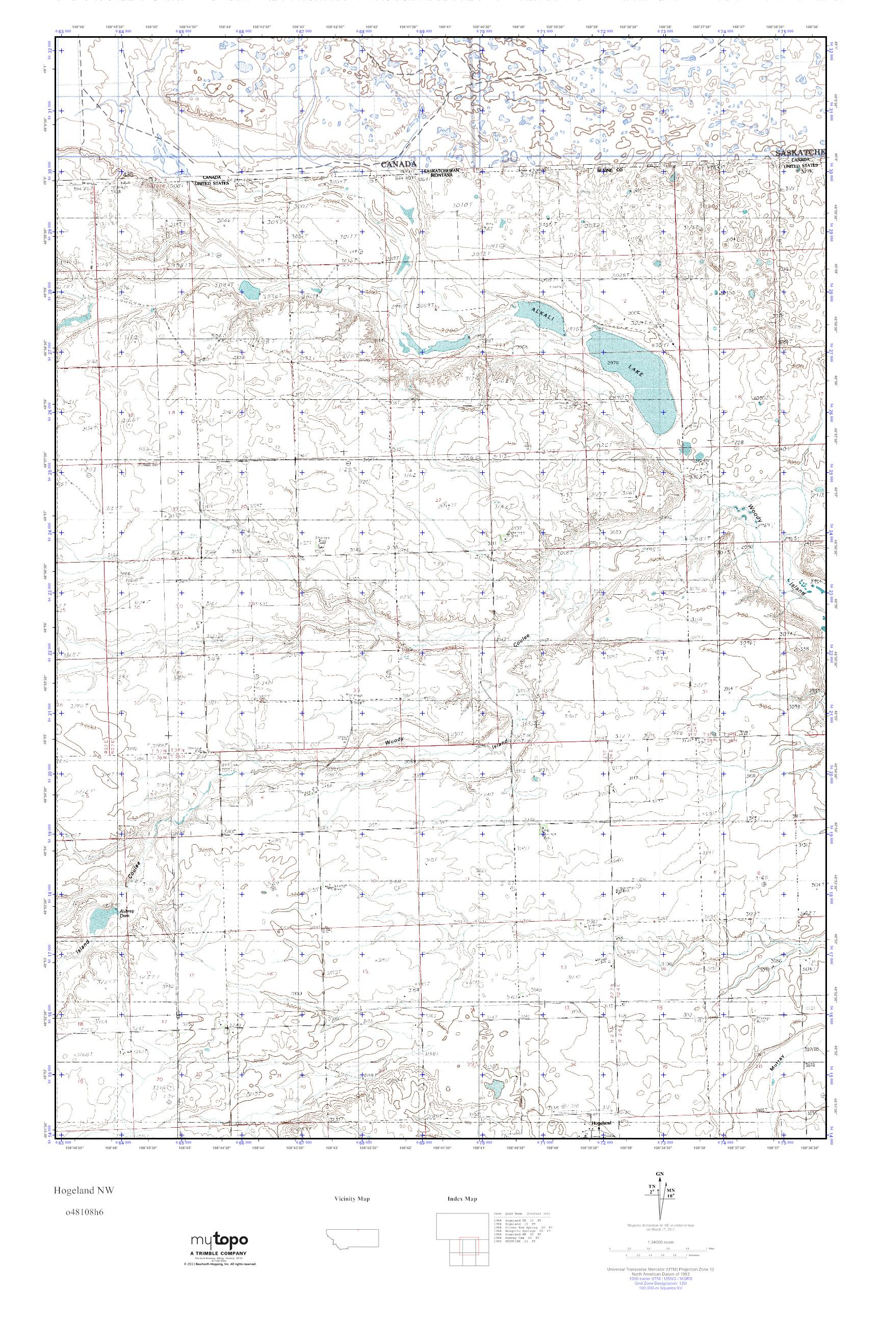 Montana blaine county hogeland - Build A Custom Map For The Hogeland Nw Usgs Quad