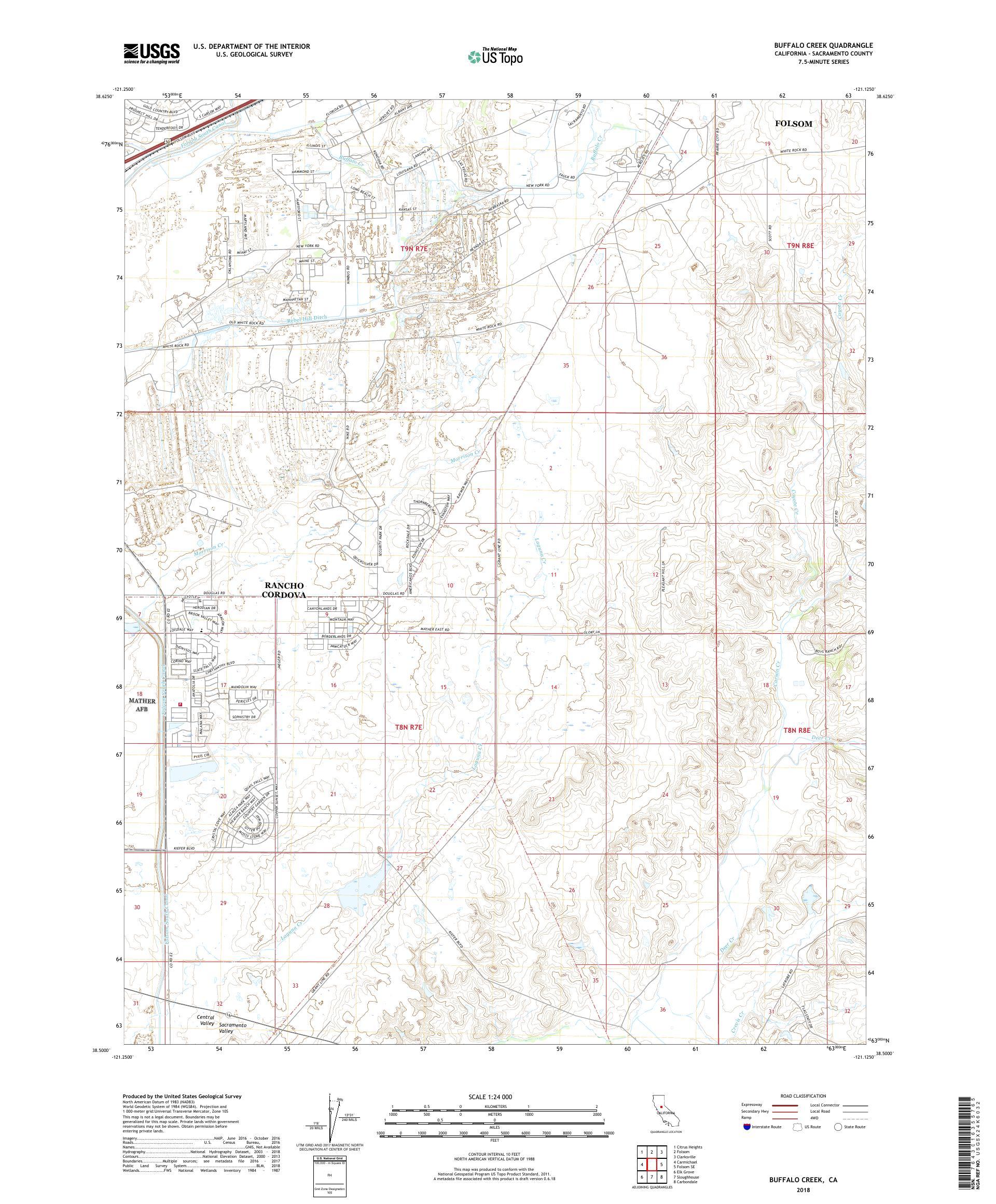 MyTopo Buffalo Creek, California USGS Quad Topo Map on us map new york, us map missouri, us map texas, us map ga, us map kansas, us map mn, us map ny, us map ohio, us map md,