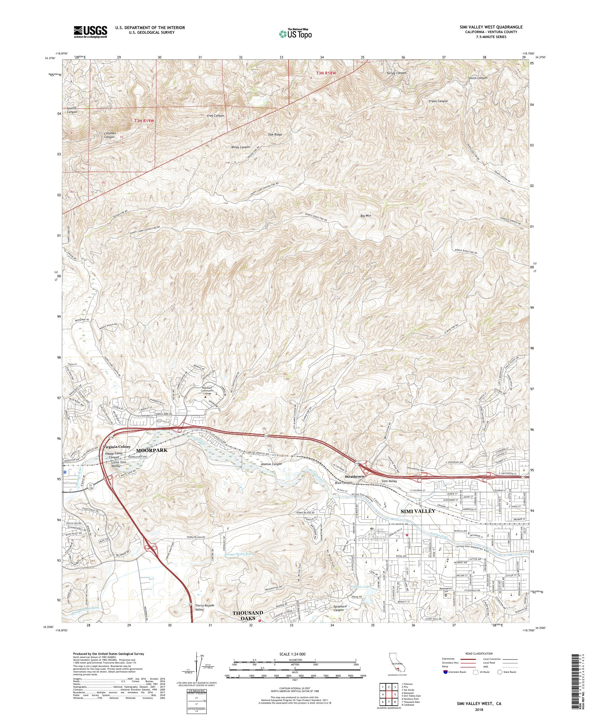 MyTopo Simi Valley West, California USGS Quad Topo Map on trinity center map, salinas valley map, fairmont map, thousand oaks map, santa clarita valley map, colton map, hope ranch map, conejo valley map, lehigh valley hospital campus map, chino map, ventura county map, piru map, malibu canyon map, poway map, spring valley lake map, central valley map, west hills map, california map, valley on map, valley village map,
