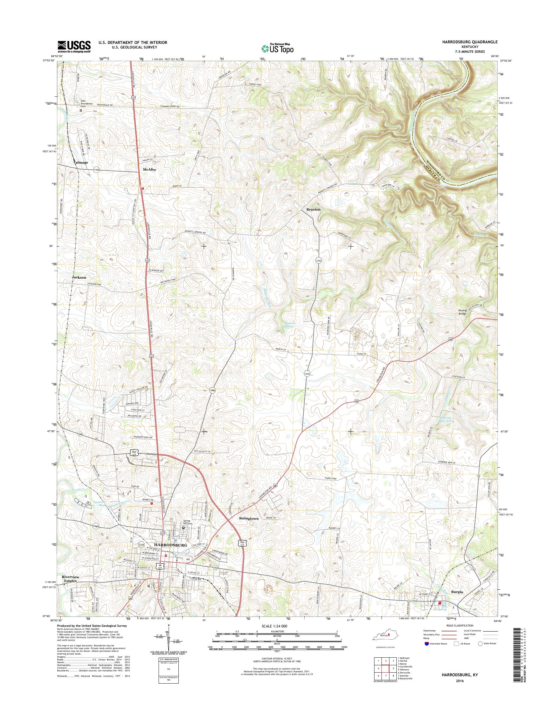 MyTopo Harrodsburg, Kentucky USGS Quad Topo Map on i 64 kentucky map, kentucky transport map, kentucky travel map, kentucky points of interest map, kentucky conference map, murray ky location on map, kentucky park map, kentucky freeway map, ohio kentucky tennessee map, southeast kentucky map, kentucky utility map, kentucky parkways map, louisville kentucky indiana map, i-65 kentucky map, i-75 kentucky map, kentucky on us map, kentucky city map, kentucky counties, kentucky maps online, florida i-75 mile marker map,