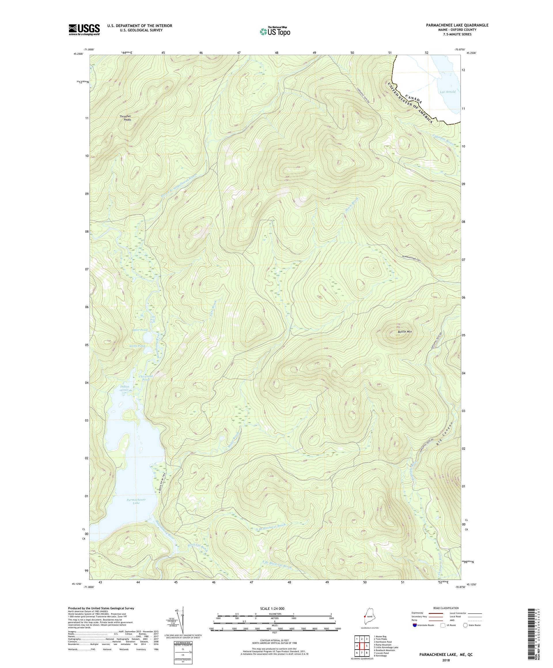 MyTopo Parmachenee Lake, Maine USGS Quad Topo Map on map of masardis me, map of west va mountains, map of mountains in south dakota, map of eastern oregon mountains, map of white mountain region, map of juneau mountains, map of penn's woods, us map of mountains, map of nevada mountains, map of england mountains, map of asir mountains, map of california's mountains, map of north conway nh area, map of united states and canada border, map of middle east mountains, map of the rockies mountains, map of land between the lakes, map of port of portland me, map of mountains in virginia, map of colorado mountains,