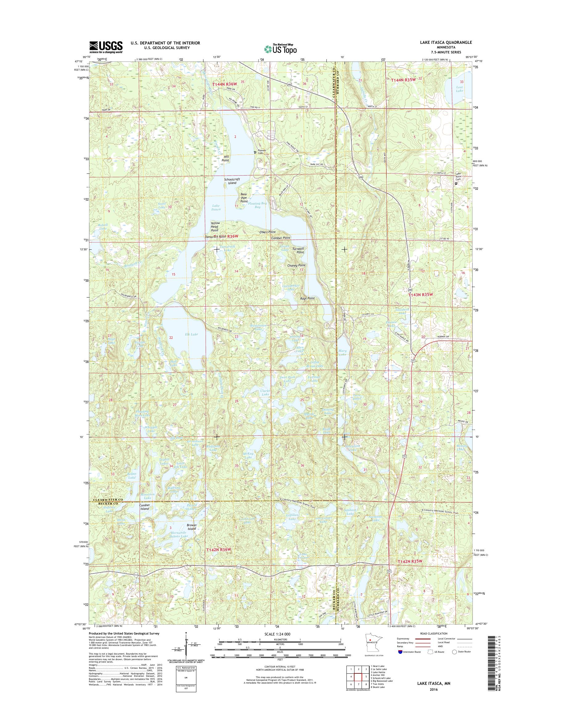 MyTopo Lake Itasca, Minnesota USGS Quad Topo Map on map of aquifers in mn, map of highways in mn, map of airports in mn, map of hospitals in mn, map of important cities in mn, map of creeks in mn, map of restaurants in mn, map of forests in mn, map of townships in mn, map of indian reservations in mn, map of school districts in mn, map of farmland in mn, map of agriculture in mn, map of zip codes in mn, map of roads in mn, map of state land in mn, map of railroads in mn, map of waterfalls in mn, map of prairies in mn, map of golf courses in mn,