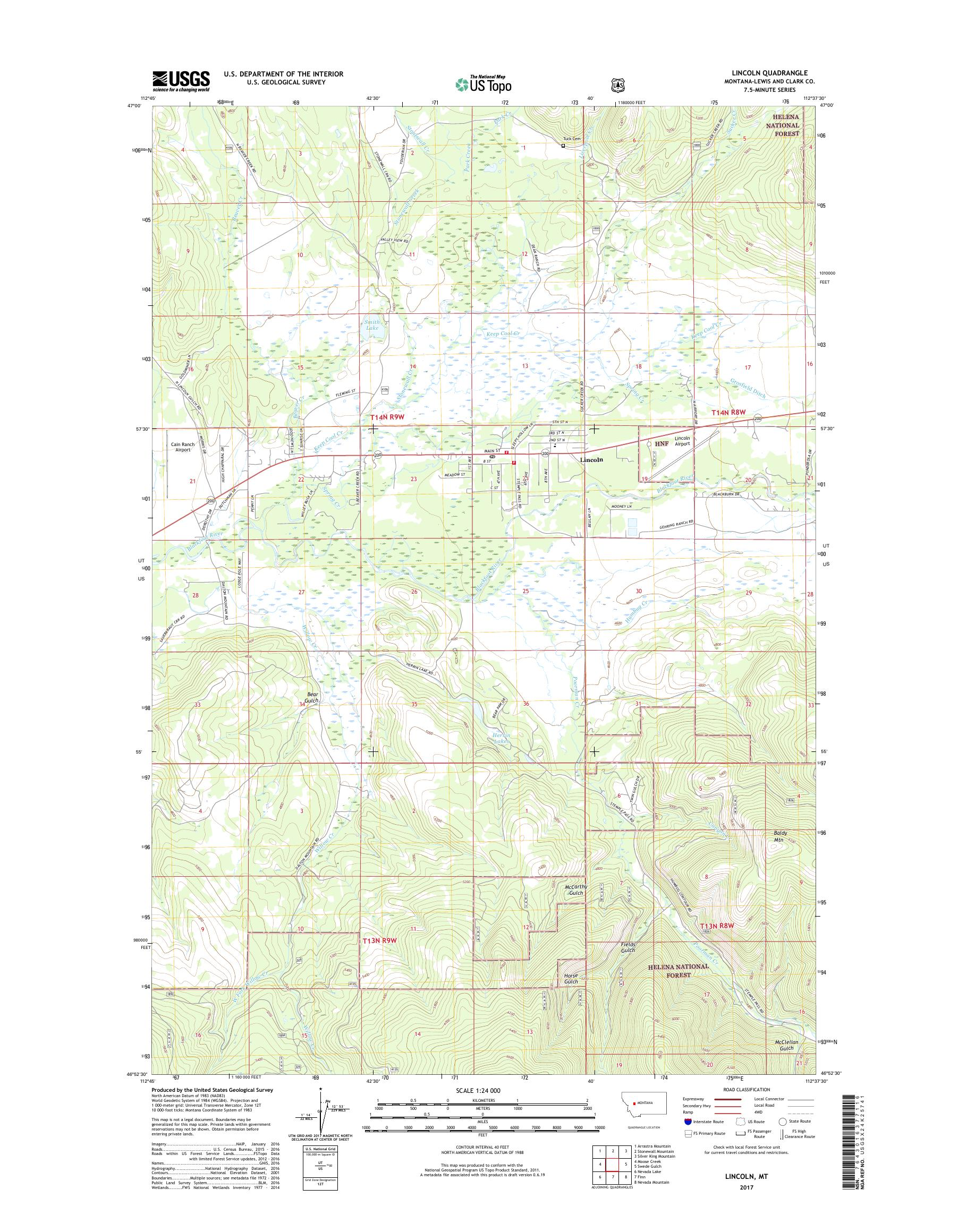 MyTopo Lincoln, Montana USGS Quad Topo Map on map of lavallette new jersey, map of linthicum maryland, map of leetonia ohio, map of ledyard connecticut, map of lincoln nebraska, map of lebanon connecticut, map of lincoln ontario, map of monticello iowa, map of lititz pennsylvania,
