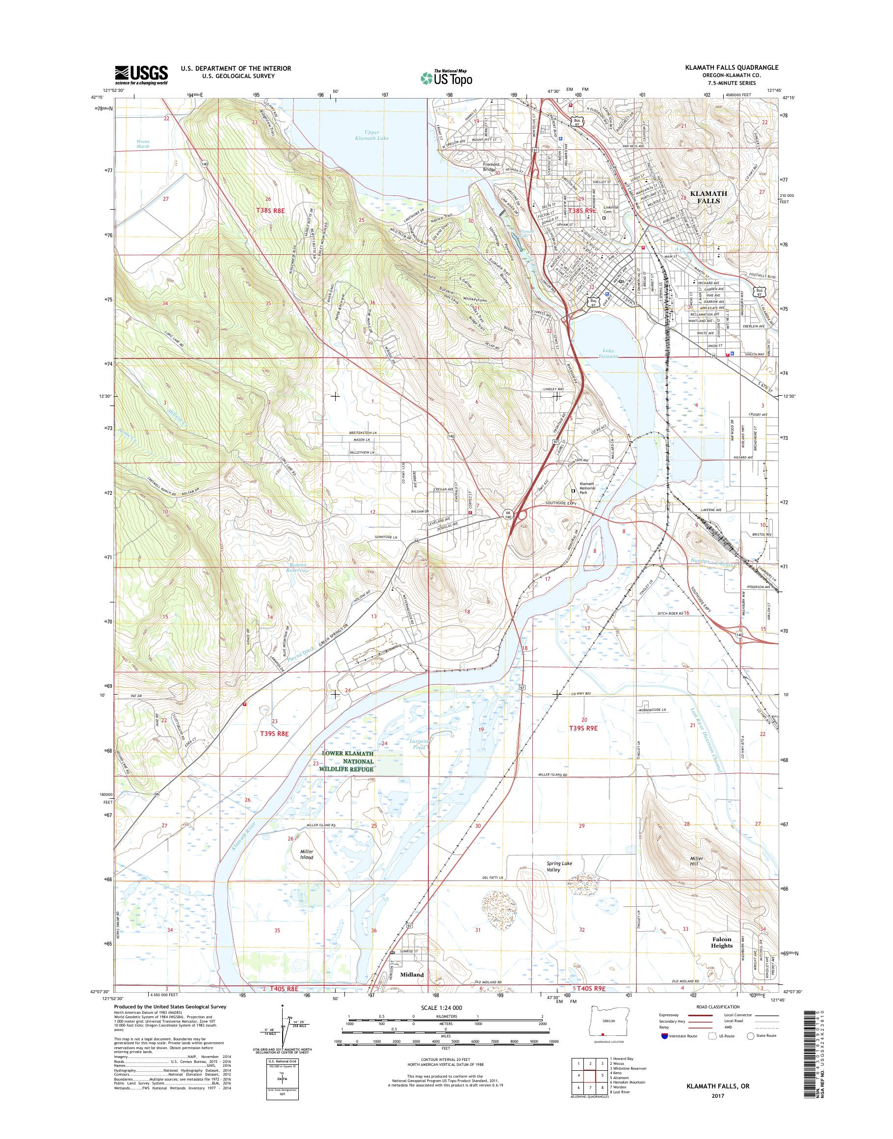 MyTopo Klamath Falls, Oregon USGS Quad Topo Map on corvallis or map, milton freewater or map, culver or map, lake county or map, douglas county or map, waldport or map, medford or map, mitchell or map, eugene or map, lane county or map, brookings or map, bend or map, roseburg or map, tidewater or map, huntington or map, hermiston or map, hood river or map, lakeview or map, boring or map, prineville or map,
