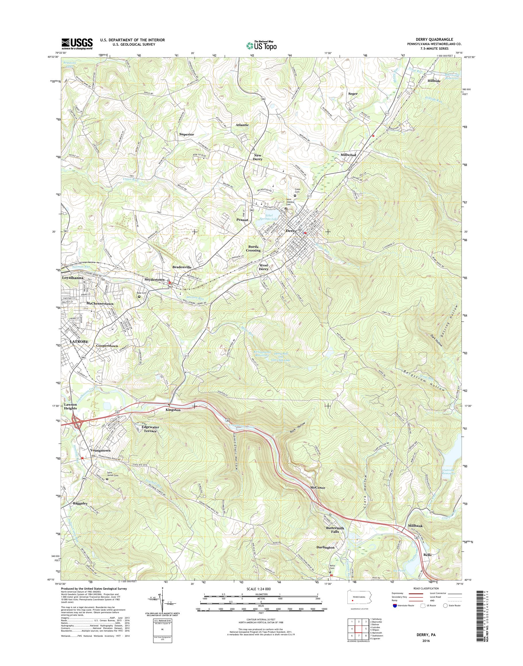 MyTopo Derry, Pennsylvania USGS Quad Topo Map on map of coal center pa, map of madison pa, map of york pa, map of castanea pa, map of berkshire pa, map of ford city pa, map of webster pa, map of avella pa, map of norwich pa, map of washington pa, map of ambler pa, map of chalk hill pa, map of avis pa, map of new bloomfield pa, map of scotland pa, map of new alexandria pa, map of cardiff pa, map of armagh pa, map of drifton pa, map of ford cliff pa,