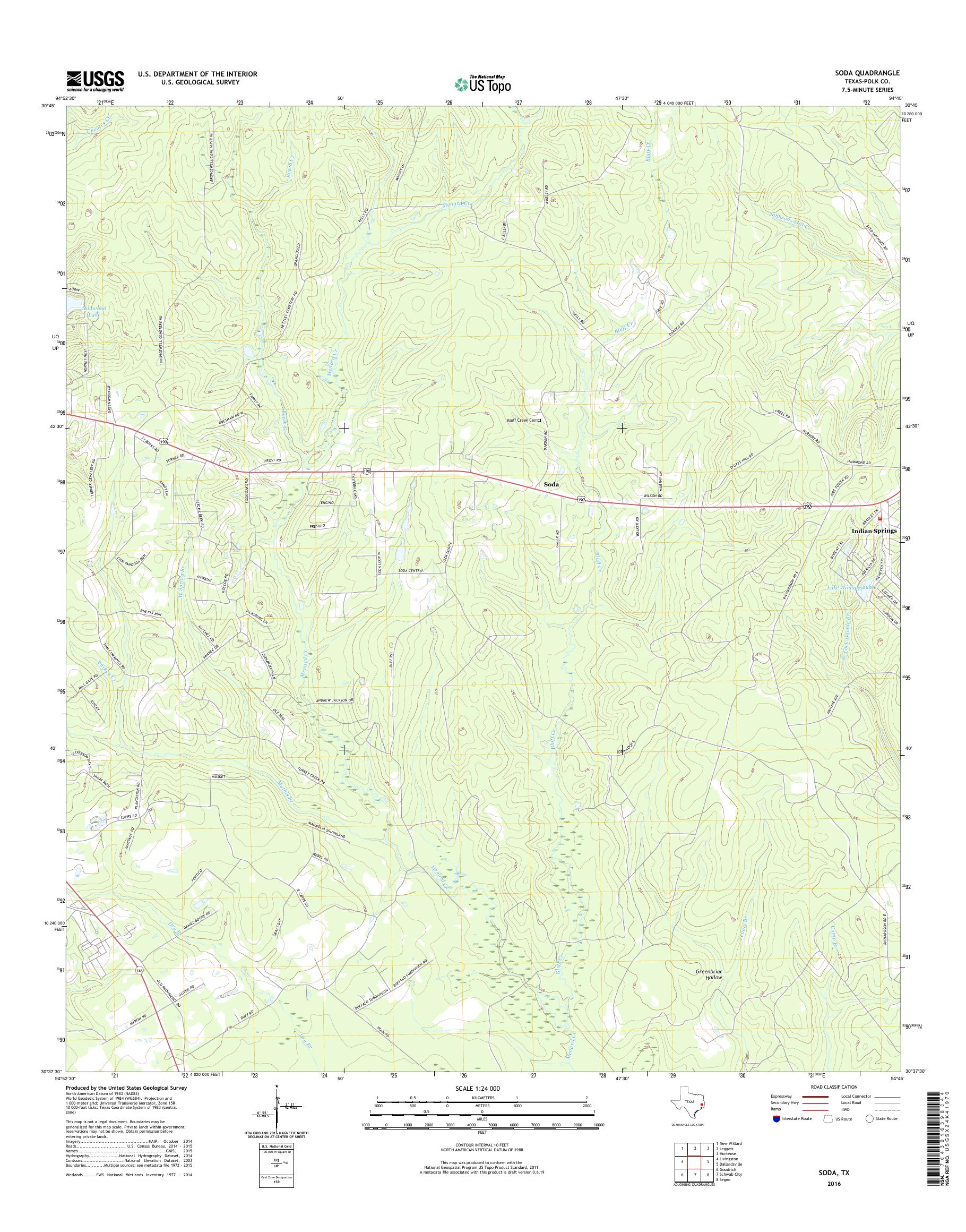 Mytopo Soda Texas Usgs Quad Topo Map - Soda-map-of-the-us