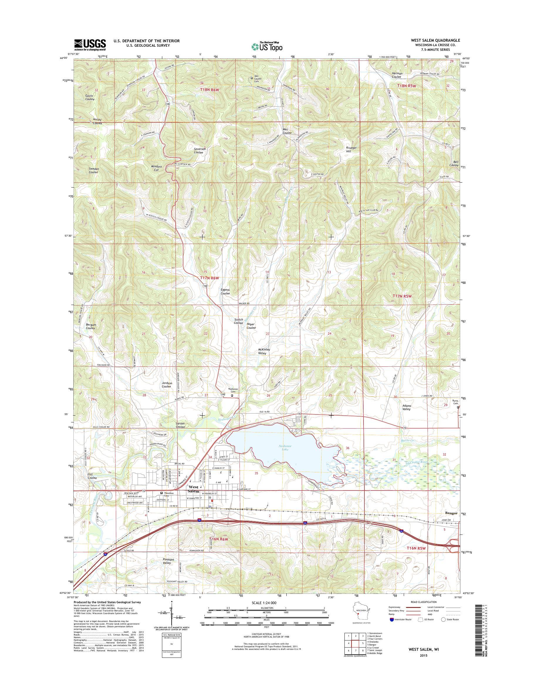 MyTopo West Salem, Wisconsin USGS Quad Topo Map on salem maine map, salem ma tourism map, salem kentucky map, salem nj map, salem ny map, salem mass map, west salem map, salem on a map, salem illinois map, salem oregon map, salem portland map, salem state map, salem boston map, salem ct map, salem wi, salem indiana map, salem massachussets map, salem new hampshire map, salem california map, salem va tax maps,