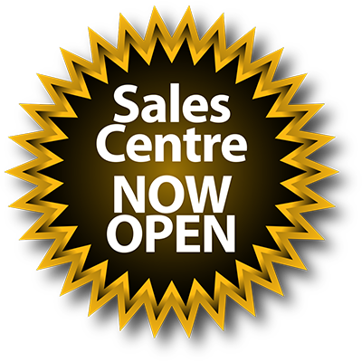 Sales Centre Now Open!