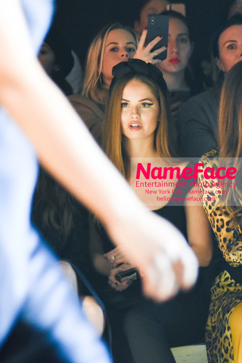 NameFace - Cushnie - Front Row - February 2019 - New York