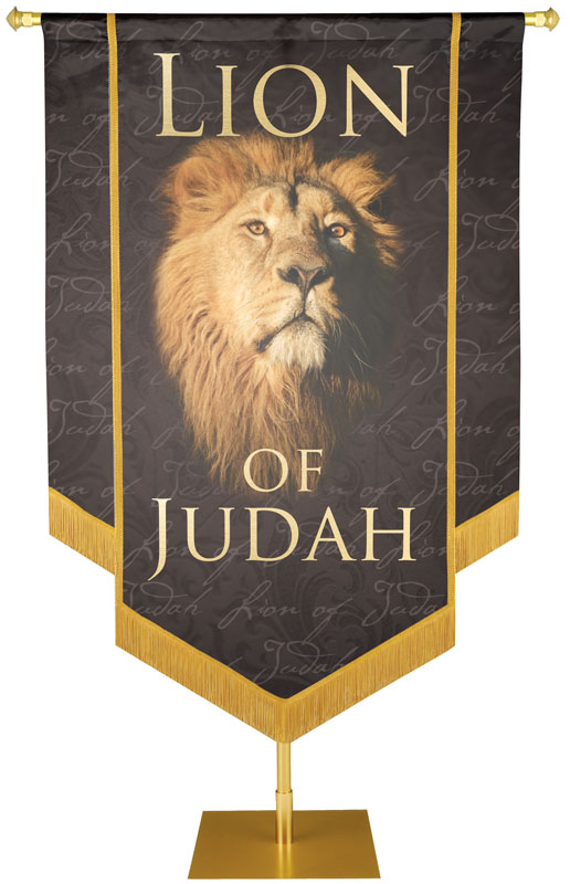 Church Banner Kit Name of Names Lion of Judah