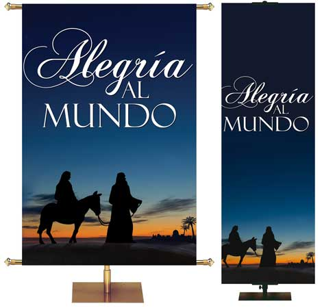 Nativity Banners in Spanish