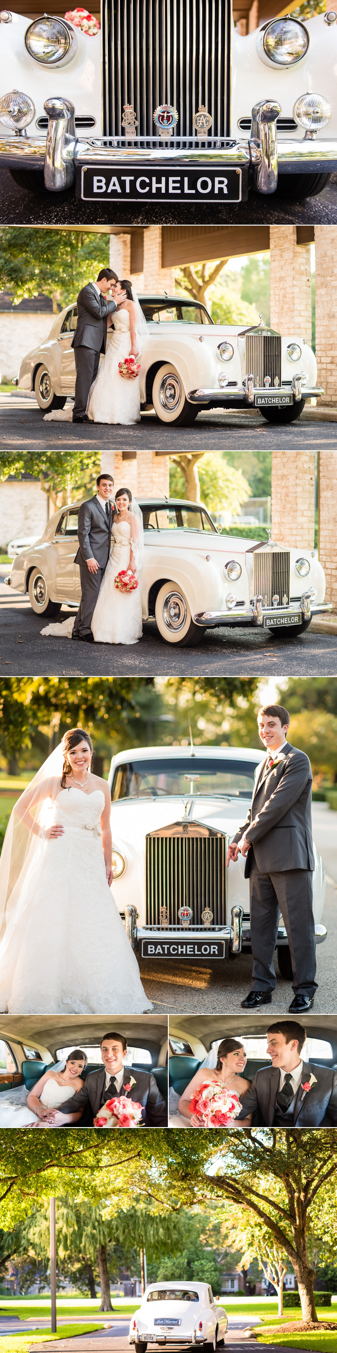 Pine Forest Country Club Wedding Rolls Royce Wedding Portraits