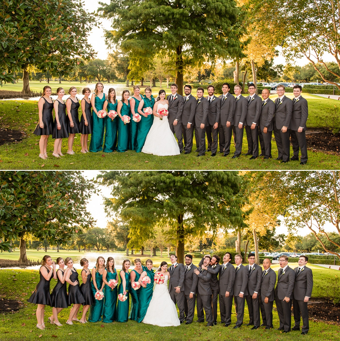 Wedding Party at Pine Forest Country Club Wedding