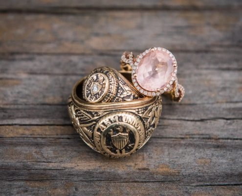 Aggie Rings and Engagement Ring