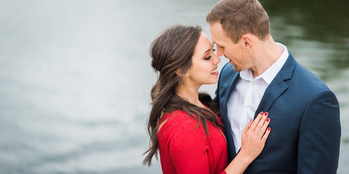 Romantic Engagement Portraits in Houston