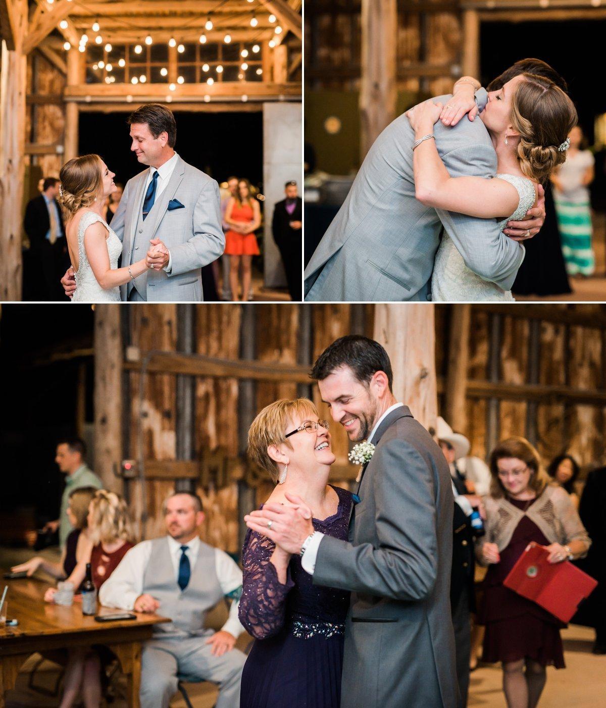 Montesino Ranch Wedding dances