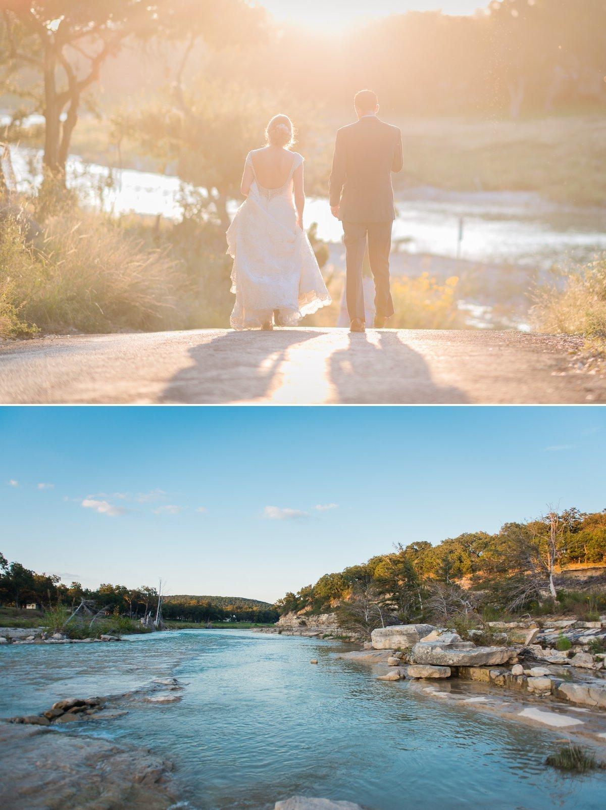 Montesino Ranch Wedding Blanco River