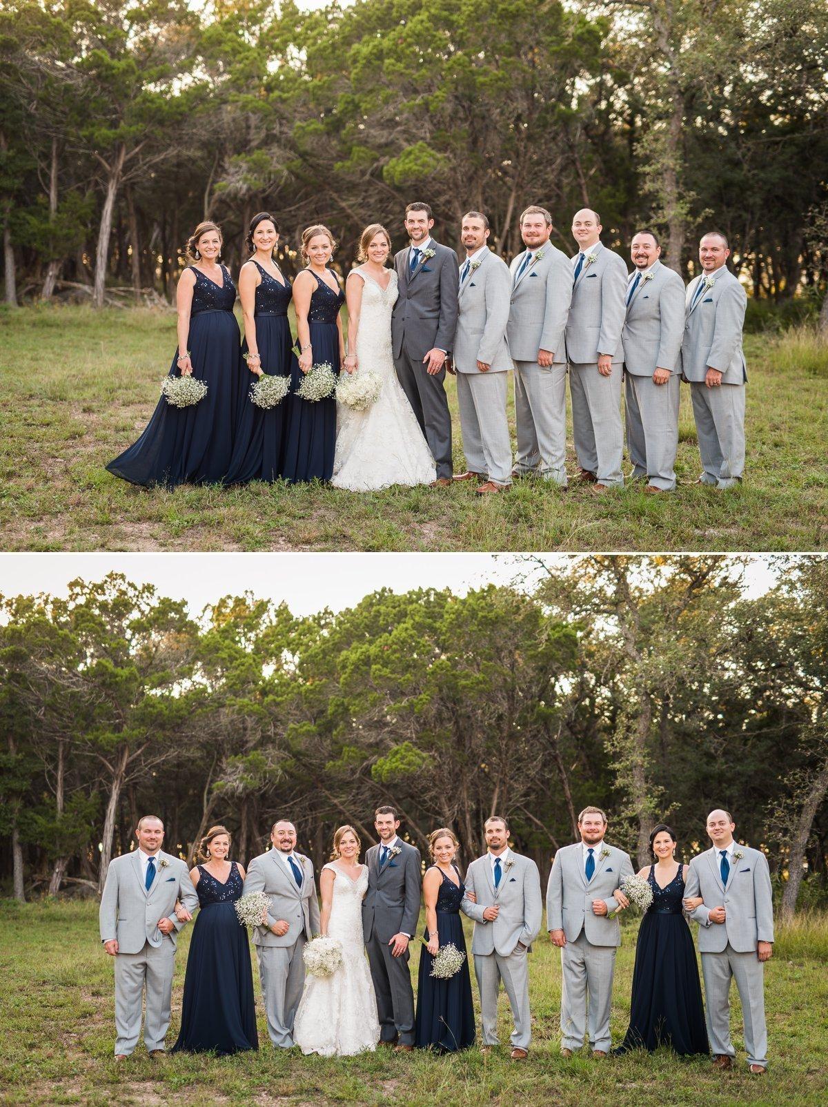 Montesino Ranch Wedding Party
