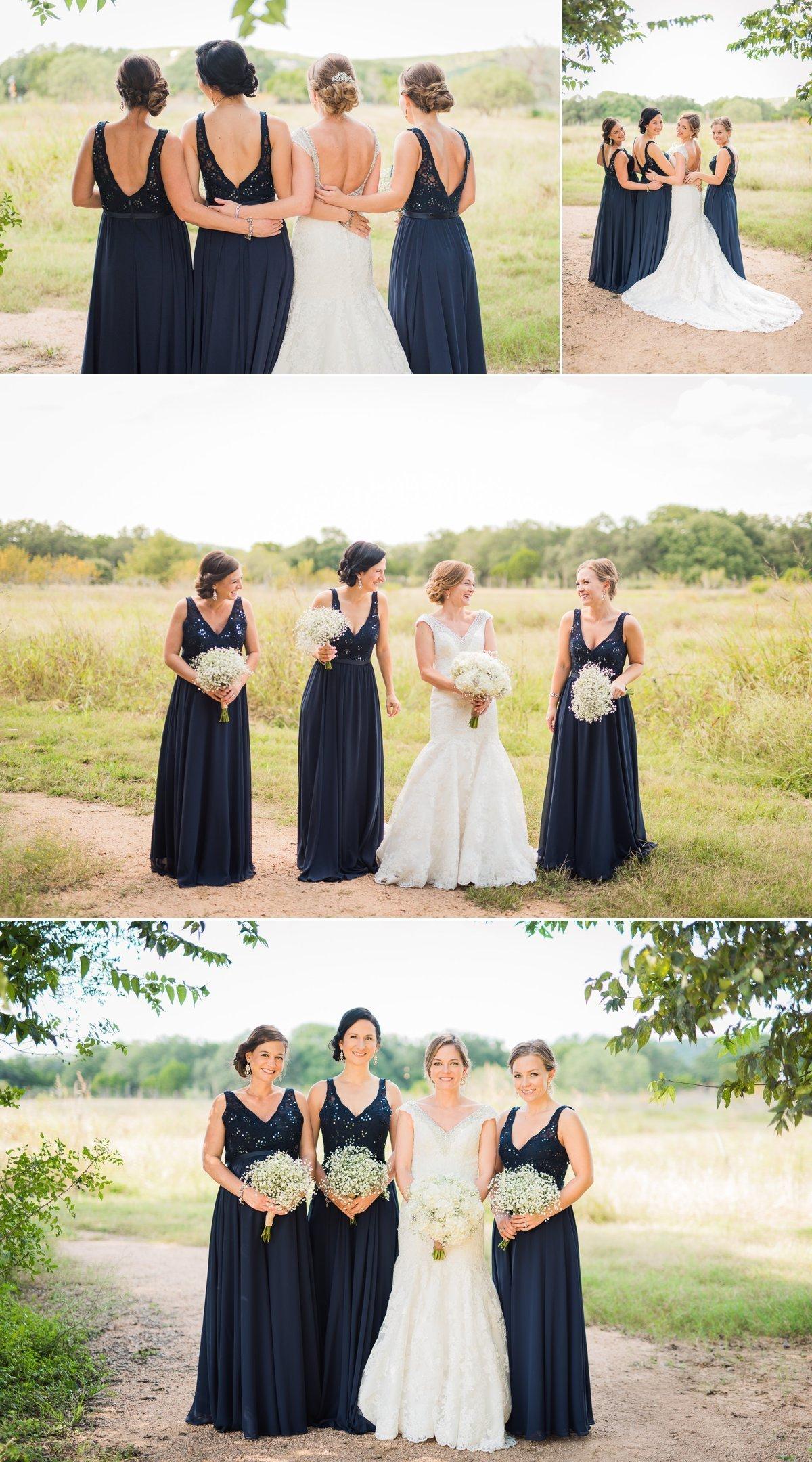 Montesino Ranch Wedding Bride and Bridesmaids