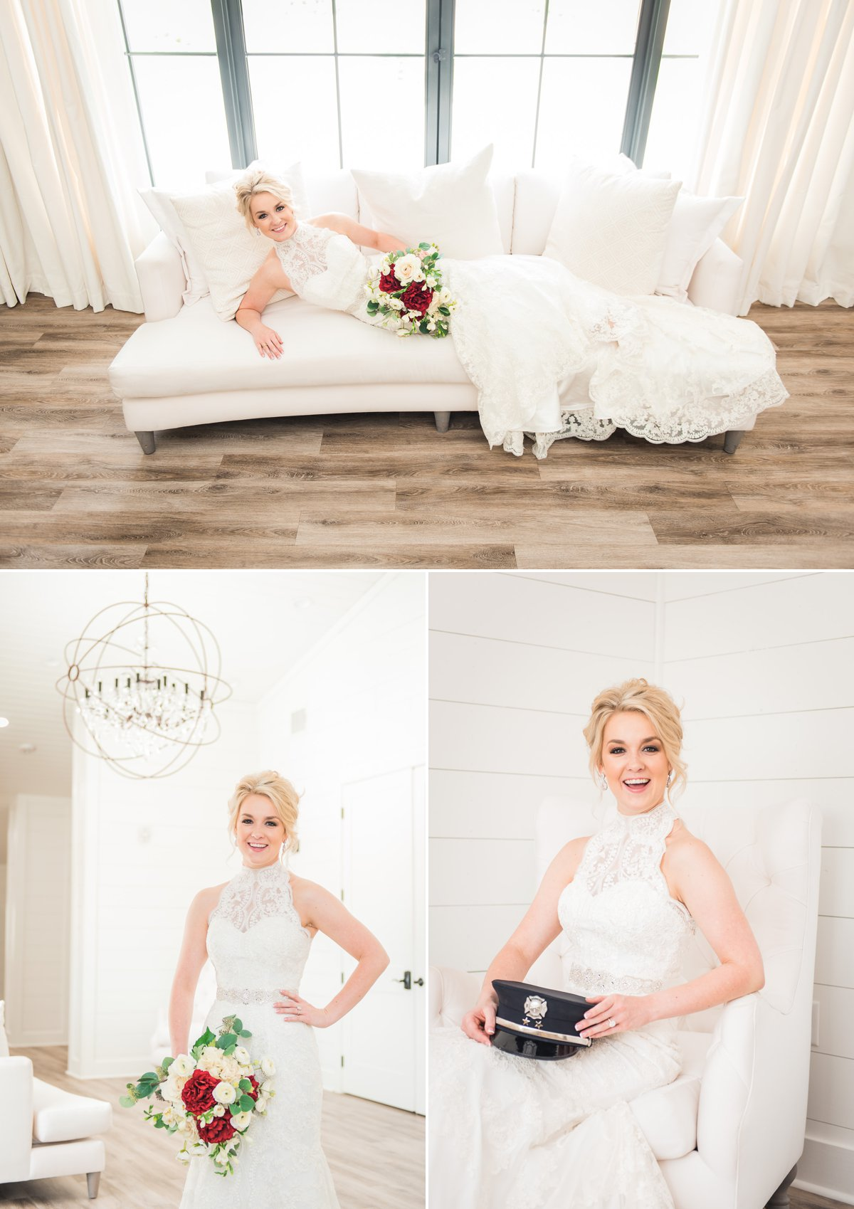 Bridal Photos at The Farmhouse Events