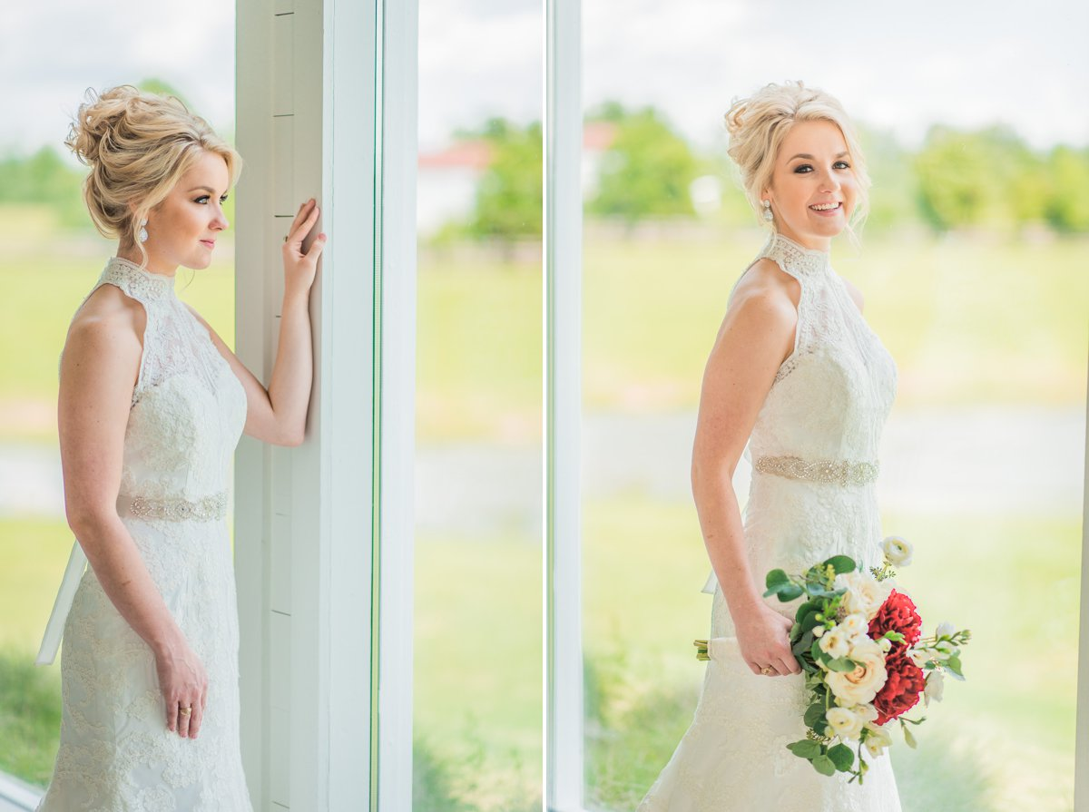 The Farmhouse Bridal Portraits