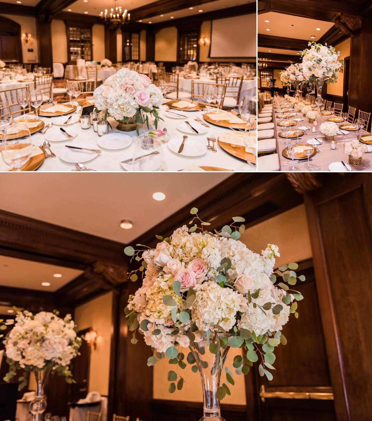 Houstonian Hotel Wedding Reception Details