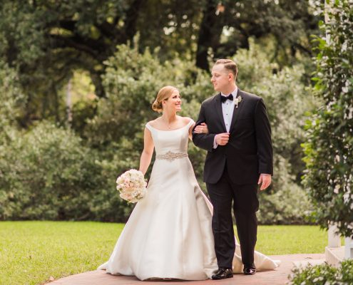 Houstonian Hotel Wedding Bride and Groom