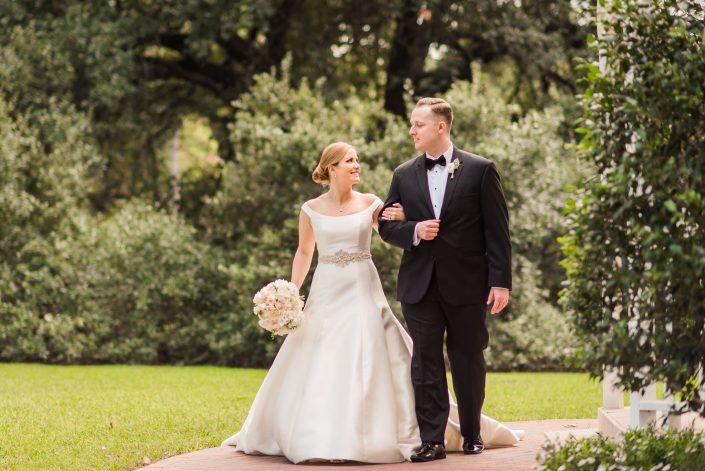 Houstonian Hotel Wedding Bride and Groom
