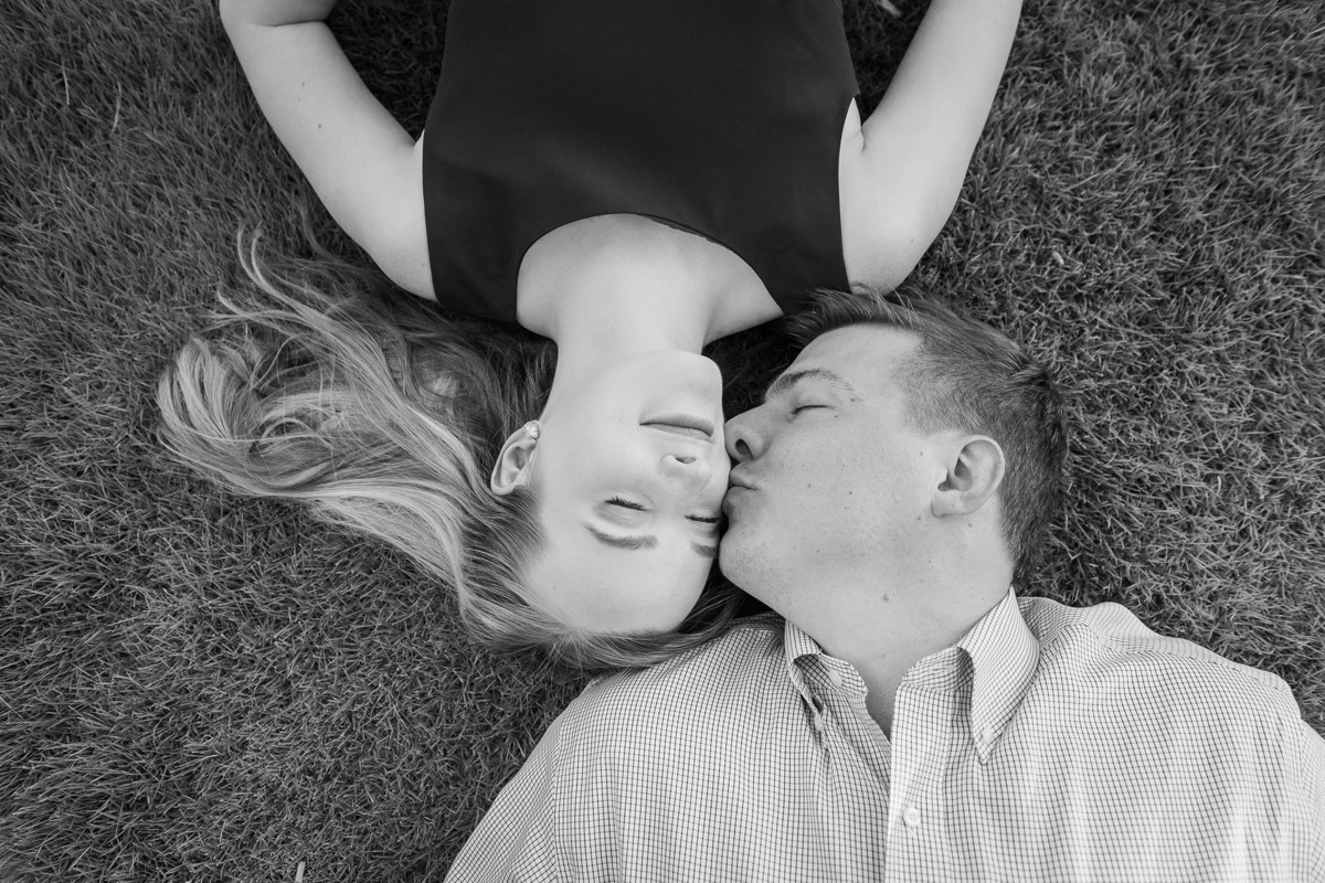 Kathryn & Greg Engagement Photography in Houston
