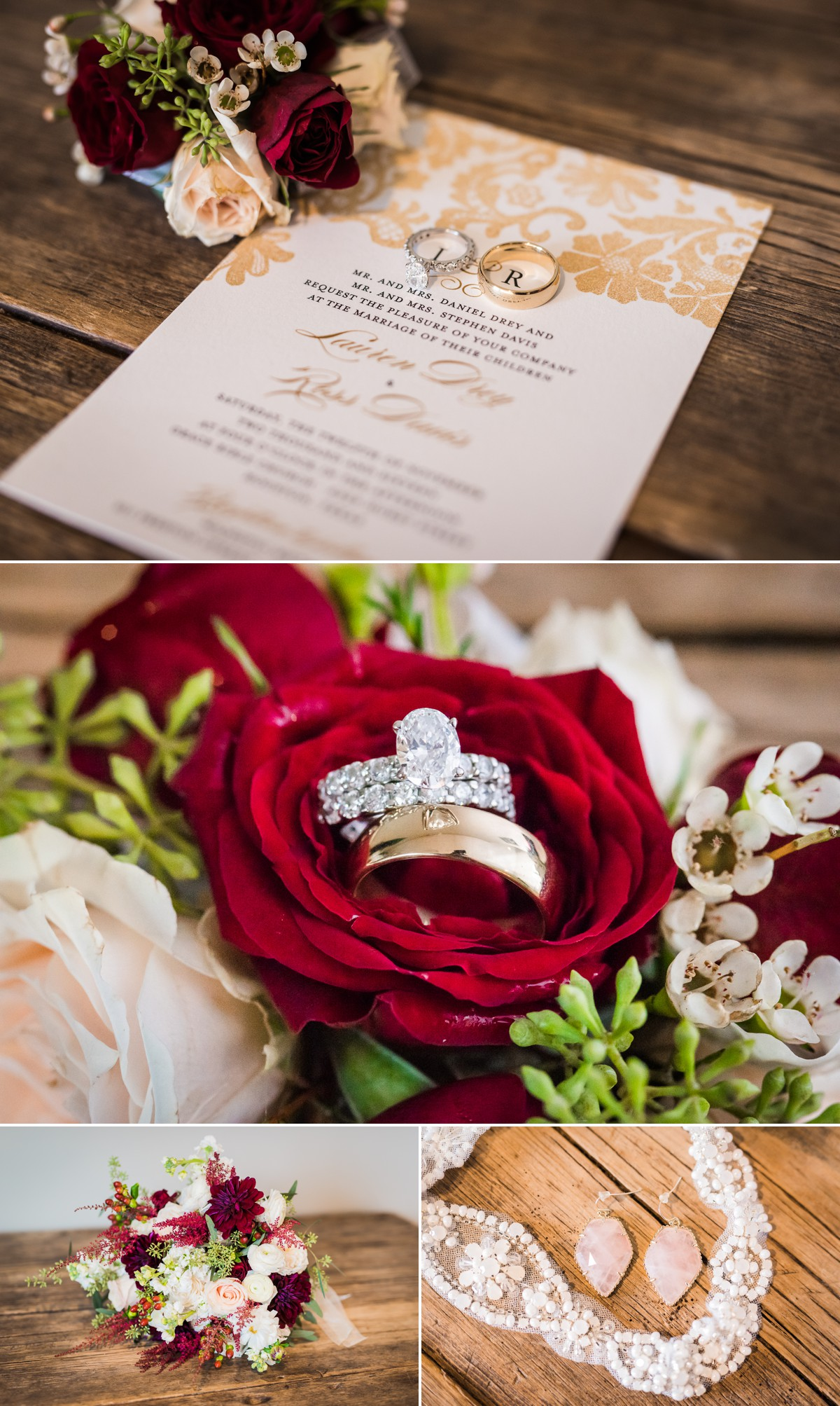 Wedding Flower and Card