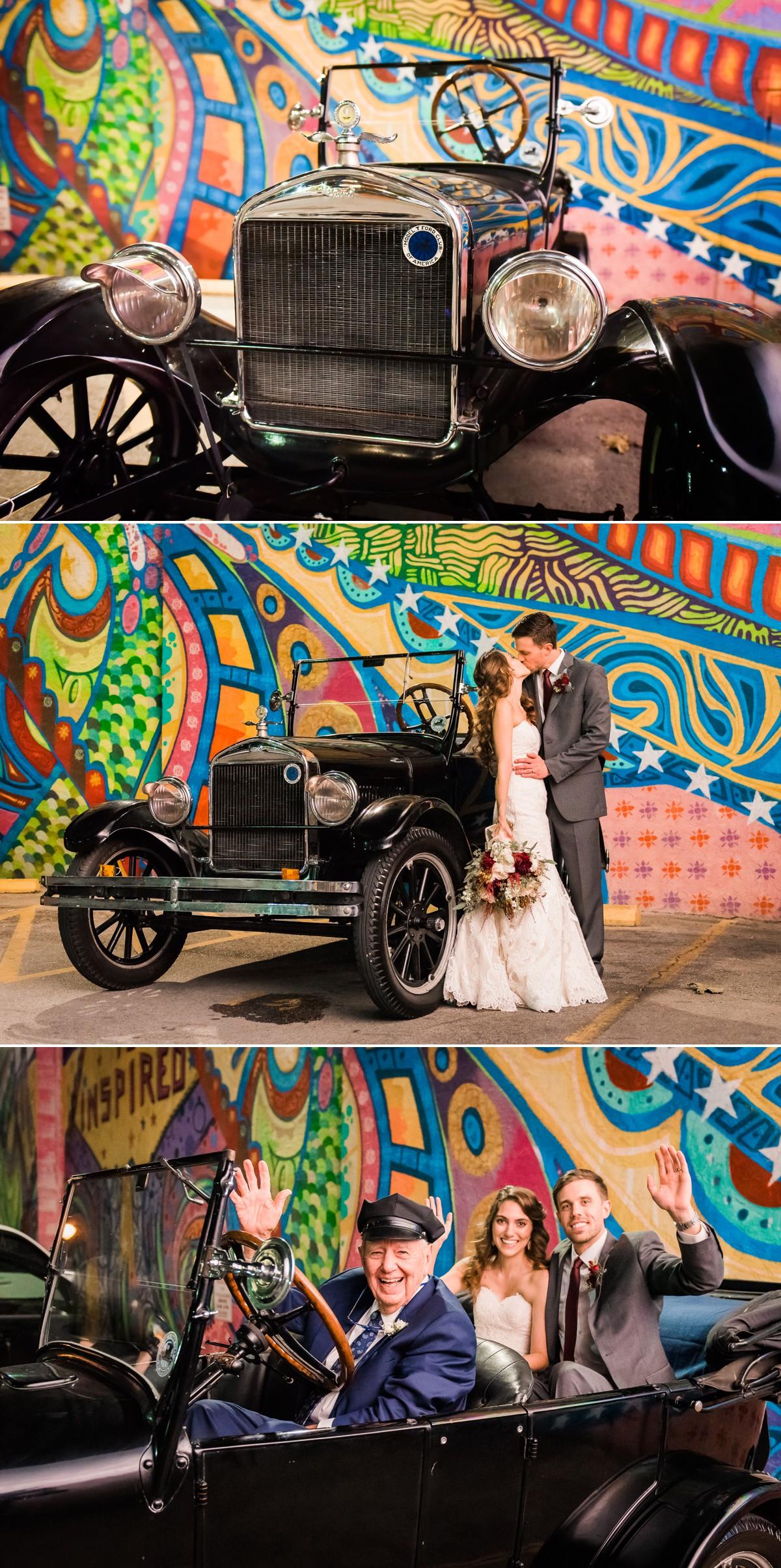 Wedding Taxi with Lauren & Ross