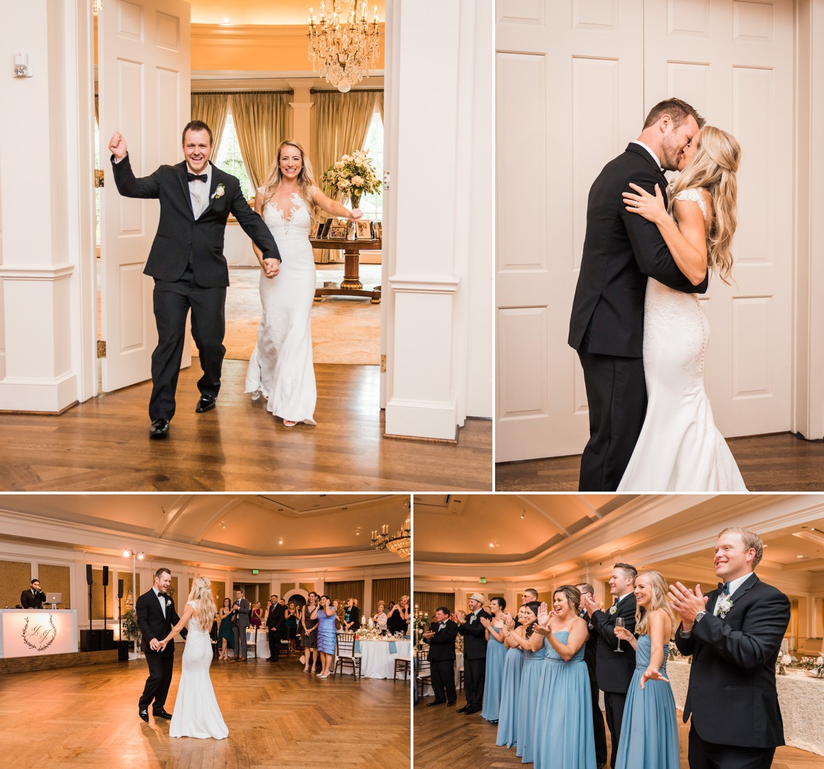 Laura & Jared Wedding Photos at River Oaks Country Club