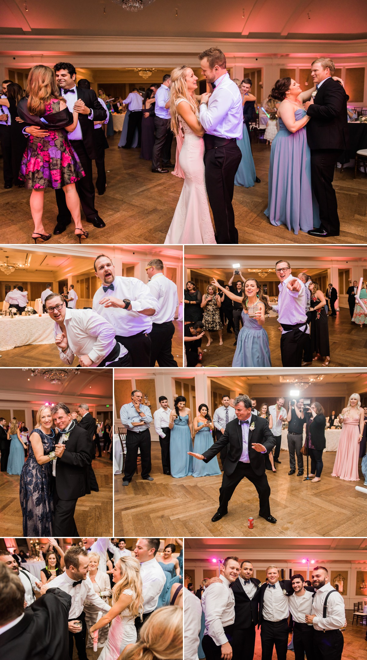 Laura & Jared Wedding Party Hall Photos