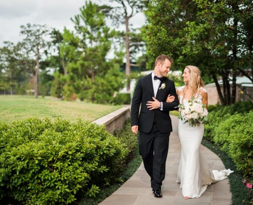 Laura-Jared River Oaks Country Club Bridal Portraits by Nate Messarra