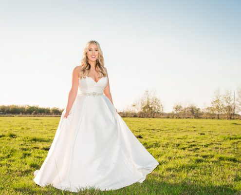 Country Bridal Portraits in Houston