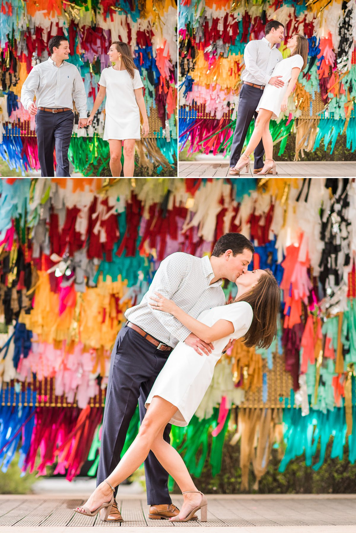 Colorful Engagement Photos of Ashley & Steven