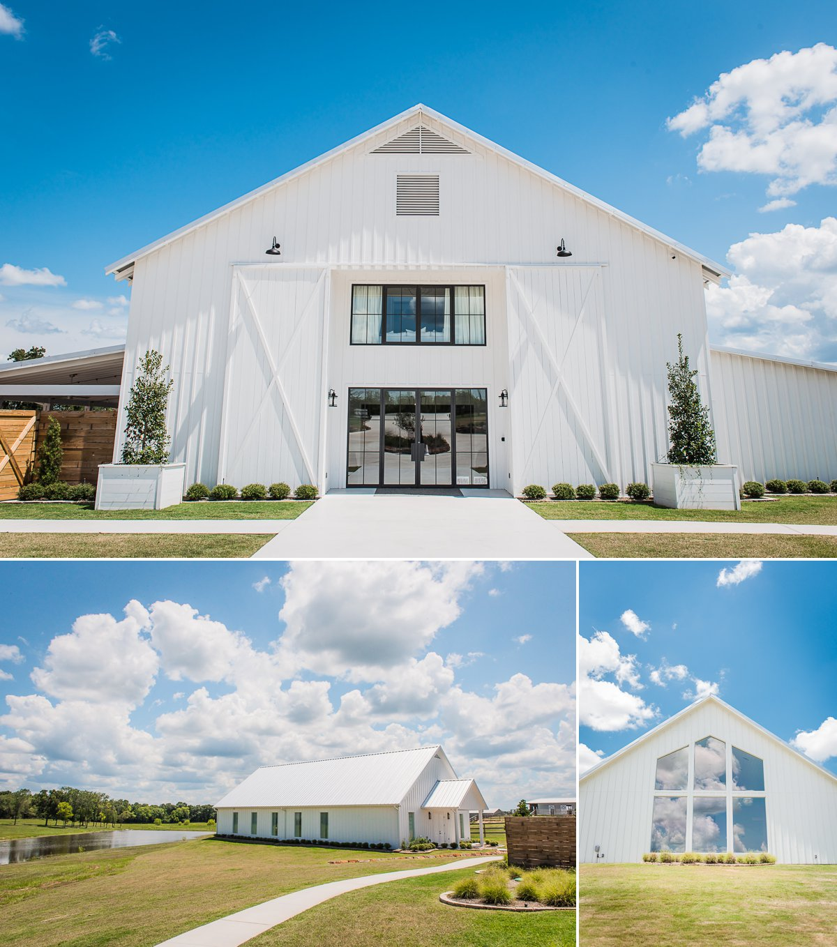 The Farmhouse Wedding venue in Houston